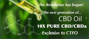 10xpure CBD Oil exclusive to Ctfo